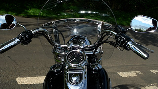 Harley Davidson Black and Chrome | by skullwull