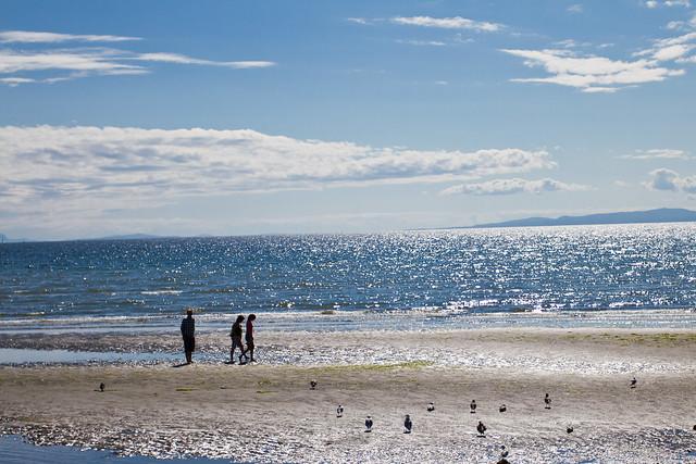 Sunny Beach in White Rock BC-045