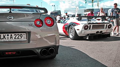 Nissan GT-R, Ford GT
