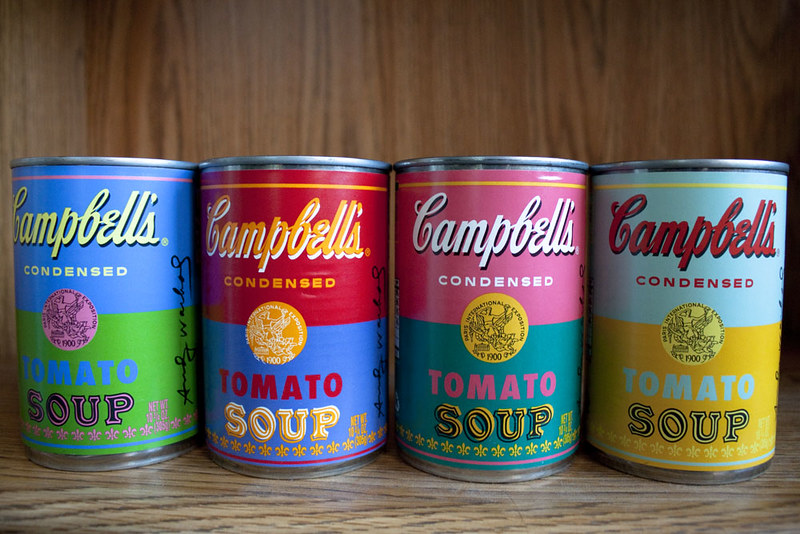 Campbells Soup - Andy Warhol 3