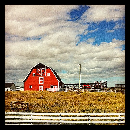 Little Red Barn by Nancy Hawkins
