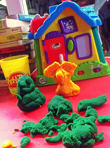 Play dough peace of mind