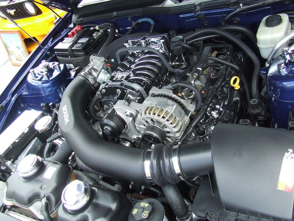 2007 Mustang GT with Roush Supercharger | Cars and Coffee Co… | Flickr