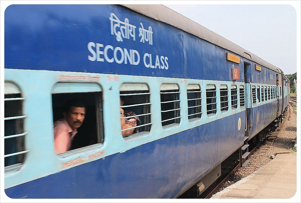 India train second class