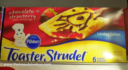 Pillsbury Chocolate Strawberry Toaster Strudel