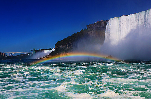 The breathtakingly beautiful Niagara