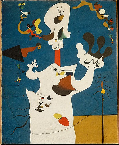 Miro, Joan (1893-1983) - 1928 Potato (Metropolitan Museum of Art, New York City) by RasMarley