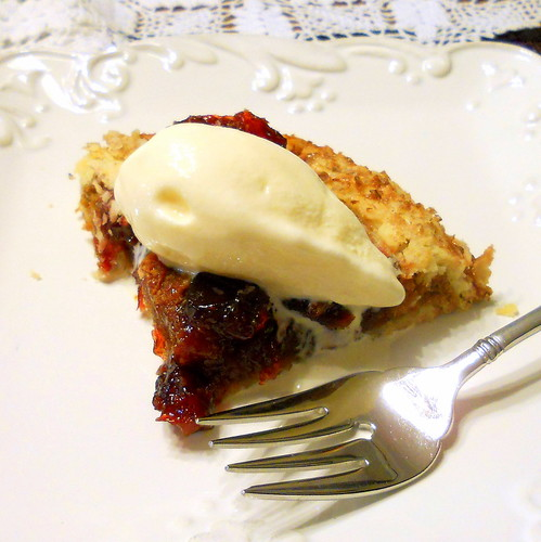 Sour Cherry Biscoff Crostata
