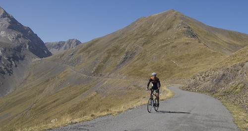 Fun Road linking Col des Tentes and Port de Boucharo