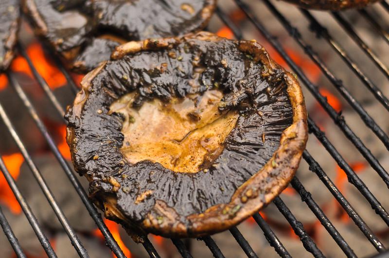 Marinated Portobello Burger