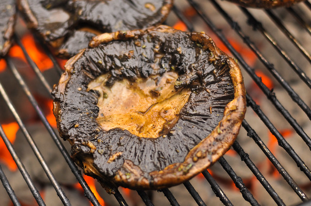 Marinated Portobello Burger