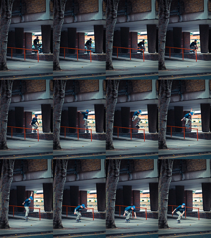 Jake Watt - Kickflip - London - Sequence
