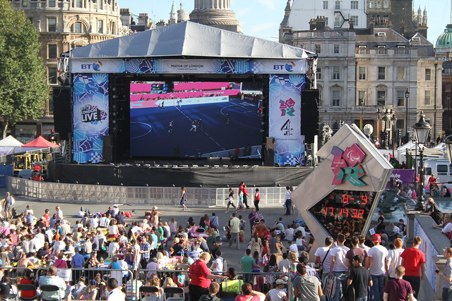 BT London Live, Trafalgar Square