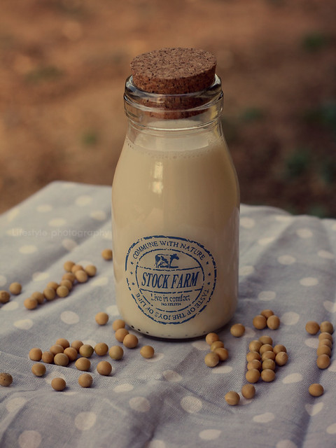 Homemade soy milk | Flickr - Photo Sharing!