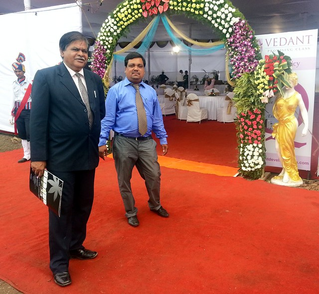 Mr. Zahoor Peerzada & Mr. Ganesh Chondhe at Kingston Imperia, 1 BHK 2 BHK & 2.5 BHK Flats, behind Dharmavat Petrol Pump, off Katraj - Undri - Saswad Road, near Khadi Machine Chowk - Kondhwa, Pisoli - Pune 411028