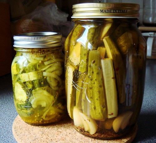 Duo of Refrigerator Pickles