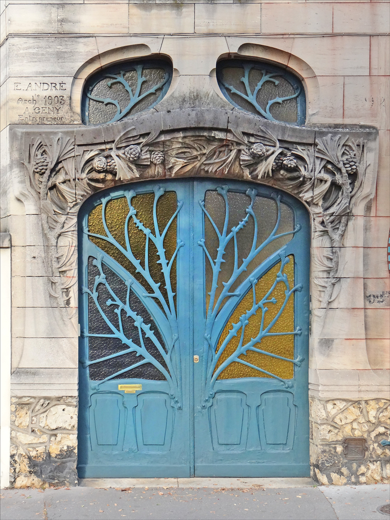Maison huot de style art nouveau nancy flickr photo for Art decoration france