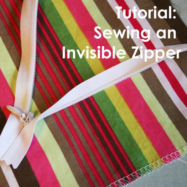 Invisible Zipper Tutorial