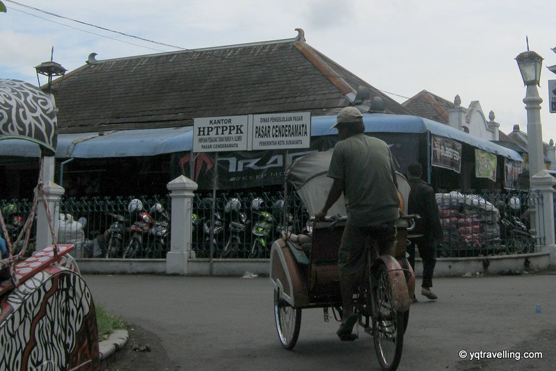 Becak in Solo