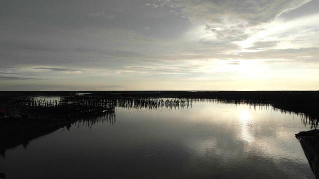 五條港拍日落