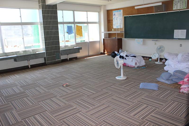 旧矢作小学校 寝てた教室 その2