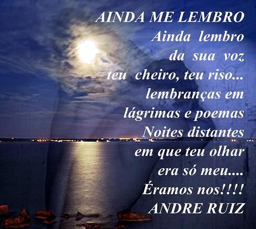 AINDA ME LEMBRO by amigos do poeta