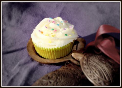 Cupcake de manzana y sidra.