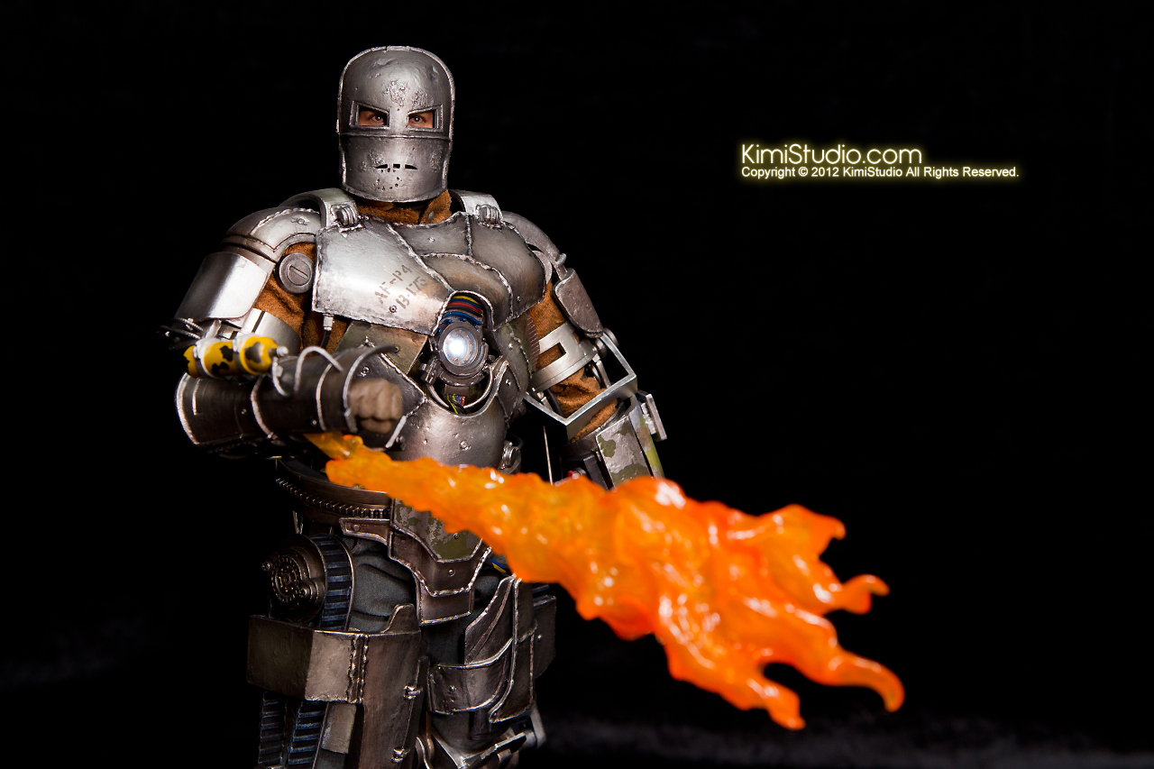 2012.09.13 MMS168 Hot Toys Iron Man Mark I V2.0-082