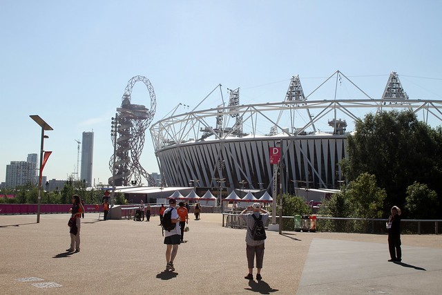 Olympic Stadium and the Orbit