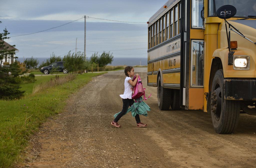 Léonie à l'école