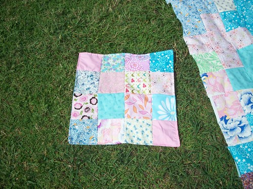 doll quilt for Alexandria