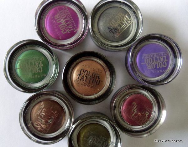 Maybelline Color Tattoo Cream Eye Shadow Eyeshadow