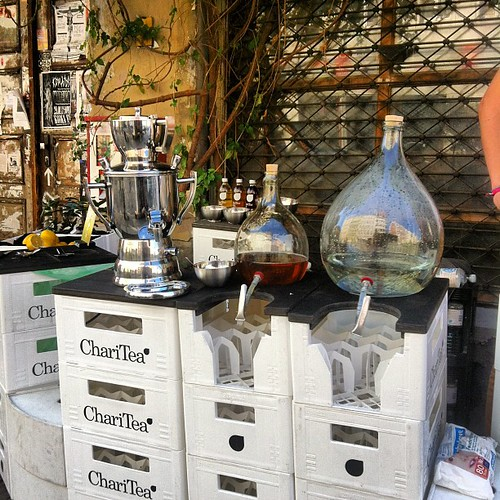 Make your own ChariTea station
