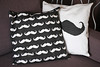 Mustache pillow cases