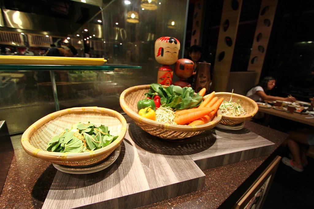 Kiseki日本自助餐餐厅:蔬菜精选