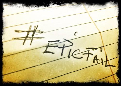 #epicfail by Damian Gadal