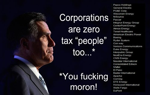 CORPORATIONS ARE... by Colonel Flick