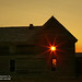 Sunrise over an old abandoned Nebraska homestead 1CGS0770