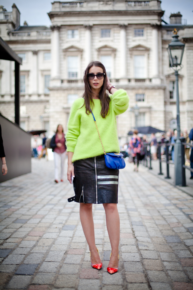 London Fashion Week SS13: Neon Brights 2
