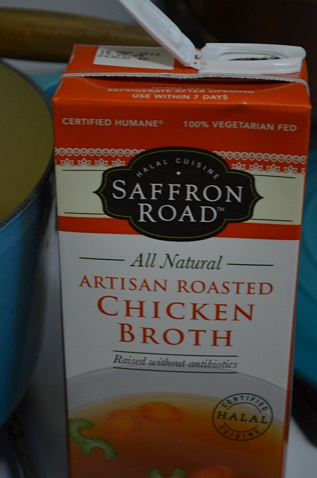 Saffron Road artisinal broth for molokhia
