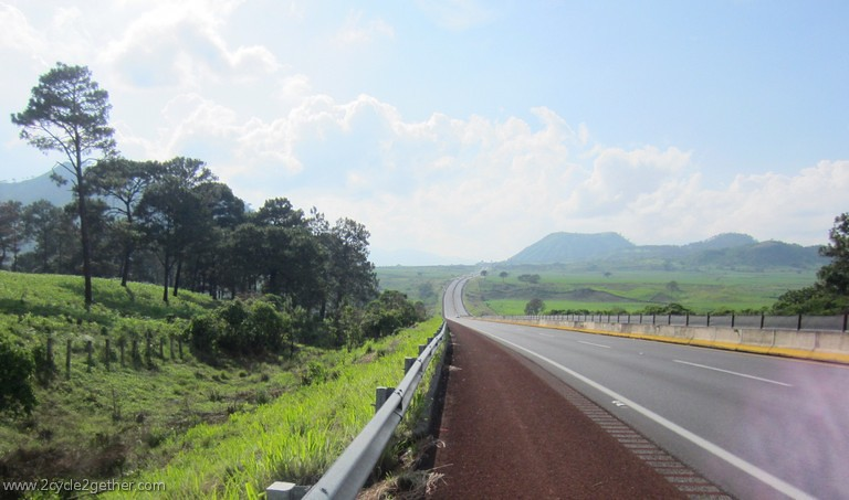 Toll road outside of Tepic