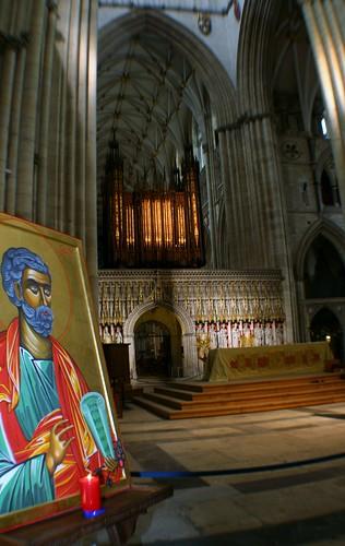 Inside York Minster, York