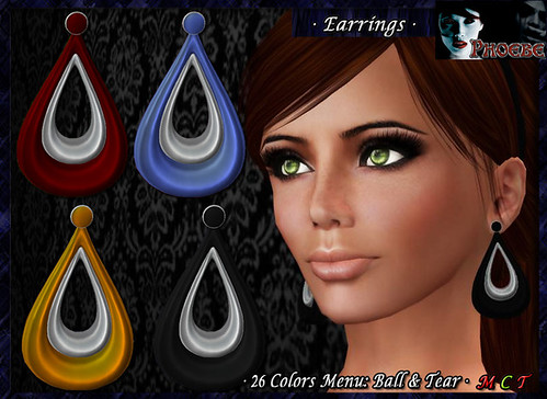 P Alexia Earrings 1 ~Colors Menu~