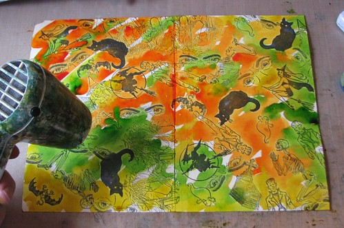 Halloween Altered File Folder 003