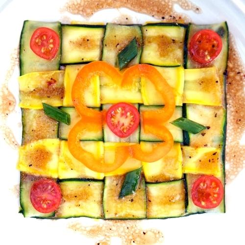 Zucchini Quilt Salad 500