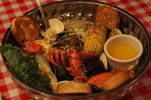 Seafood Portugal, Lobster Pot, Siesta Key, Sarasota, FL, Restaurant Review