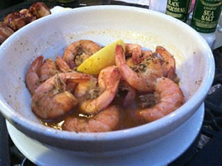 Bud and Old Bay Shrimp Bowl, Cloaked Review, Mar Vista Dockside Restaurant & Pub