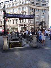 Oxford Circus Tube Entrance
