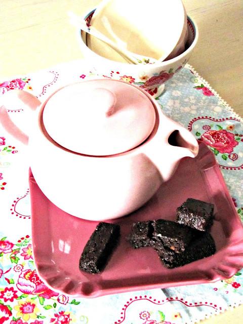 Caramel Cappuccino Brownies
