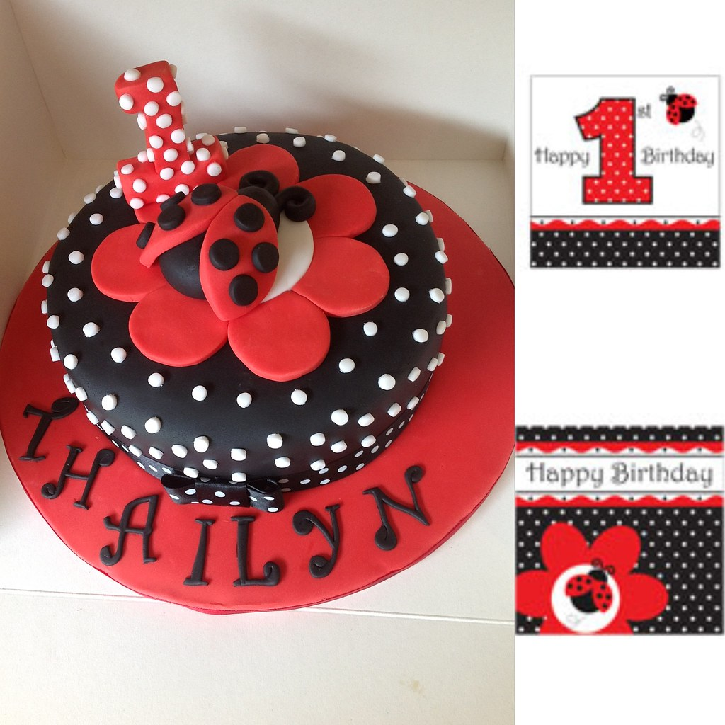 Ladybug Cake Decorating Ideas